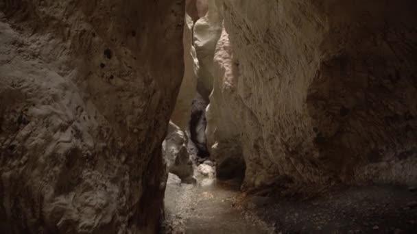 Canyon Saklikent inside view in Turkey.