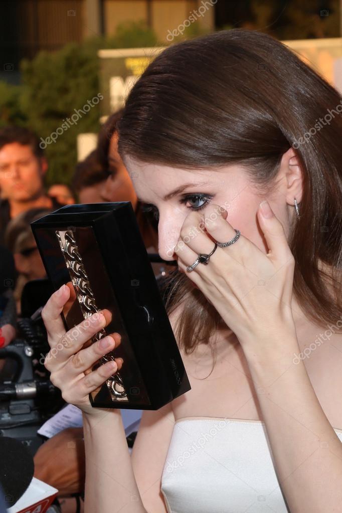 Schauspielerin Anna Kendrick — Redaktionelles Stockfoto ...