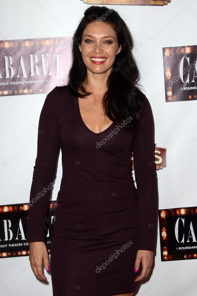 actress Alaina Huffman...