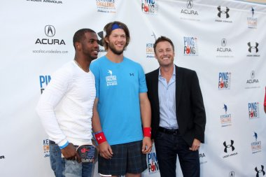 Chris Paul, Clayton Kershaw, Chris Harrison