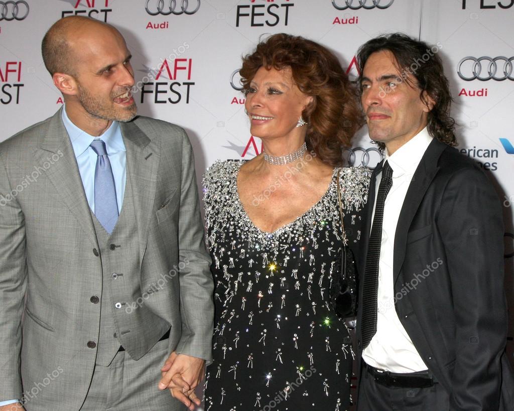 Edoardo Ponti, Sophia Loren, Carlo Ponti – Stock Editorial Photo ©  Jean_Nelson #57975615