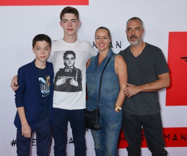 Titus Welliver, family