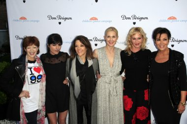 Frances Fisher, Selma Blair, Marianne Williamson, Kelly Rutherford, Melanie Griffith, Kris Jenner