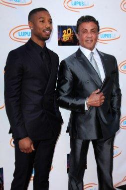 Michael B Jordan, Sylvester Stallone