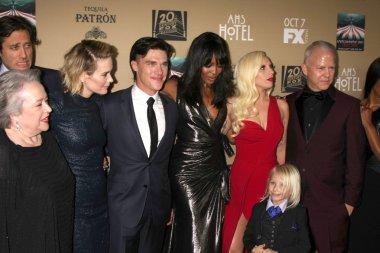 Finn Wittrock, Naomi Campbell, Lady Gaga, Ryan Murphy, Angela Bassett
