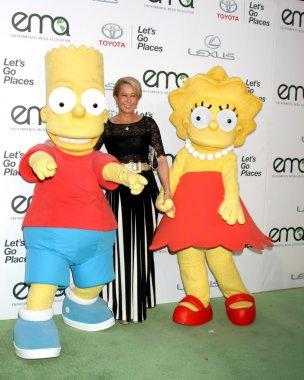 Bart Simpson Charachter, Yeardley Smith, Lisa Simpson charachter