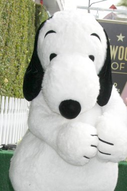 Snoopy Hollywood Walk of Fame Ceremony