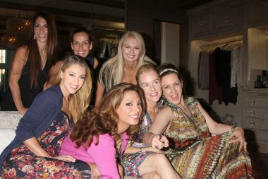 Alex Meneses and friends, Jadyn Douglas, Penelope Ann Miller, Joely Fisher, Angeline-Rose Troy