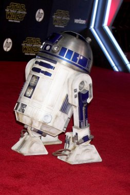 R2-D2 at Star Wars: The Force Awakens World Premiere