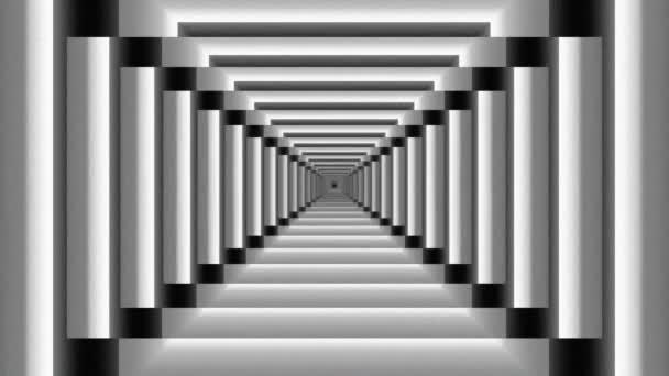 Abstraktní bezešvé intro zoom ze schodů