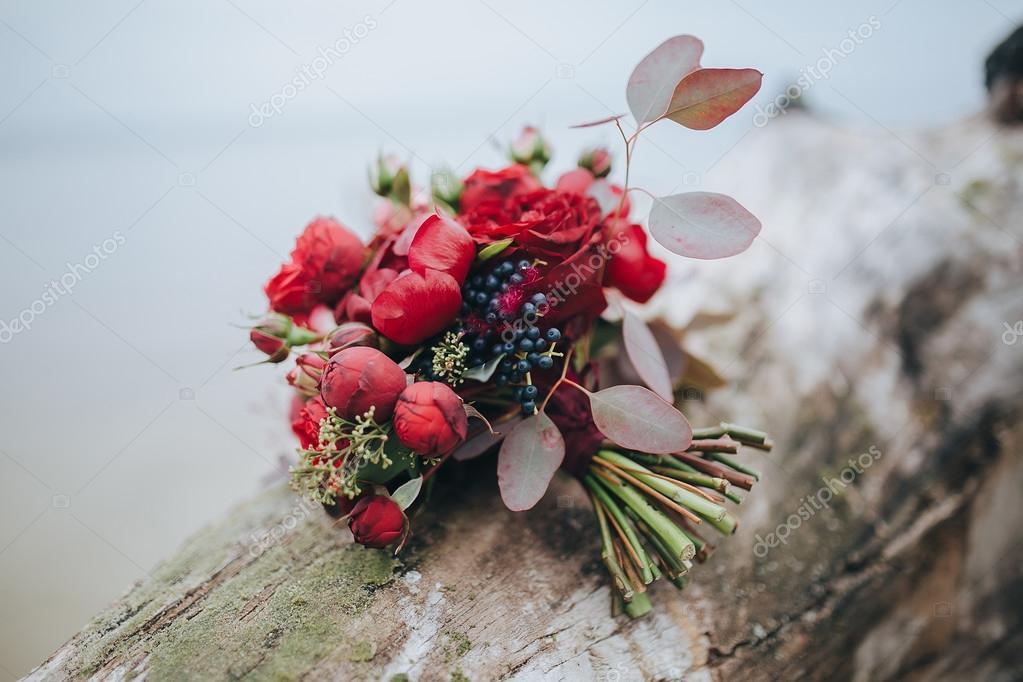Hochzeit Rot Und Rosa Blumen Stockfoto C Hinhanni 106451482