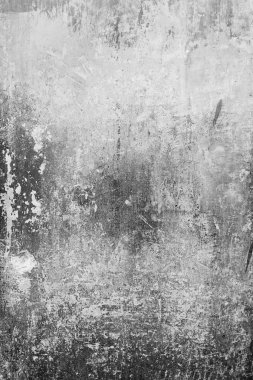 Old painted rusty wall, abstract background, bw photo