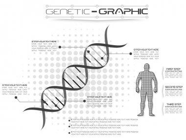 INFOGRAPHIC GENETIC