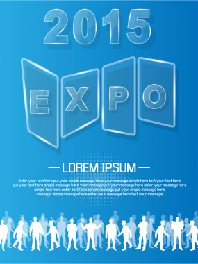 EXPO 2013 ANNUAL EVENT ADVERTISING GLASS