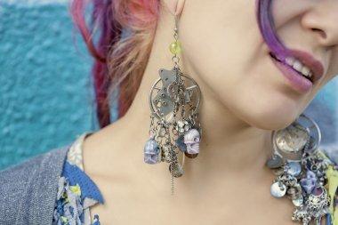 steam punk earrings