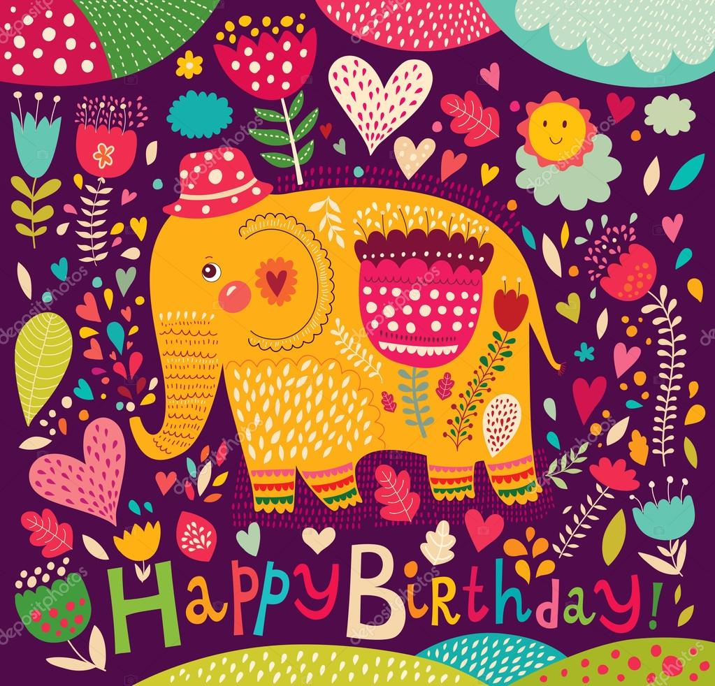 С днем рождения открытки на хинди