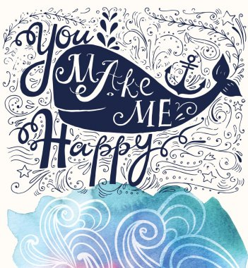 You make me happy with fish