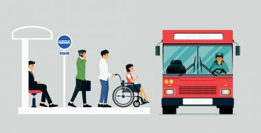 Buses for disabled