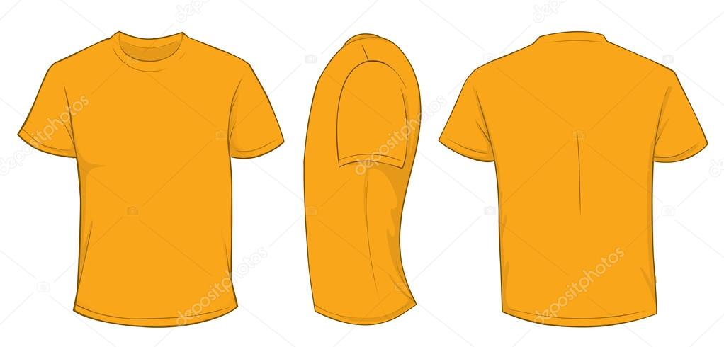 8163c26ba2 Narancs póló sablon — Stock Vektor © airdone #119781660