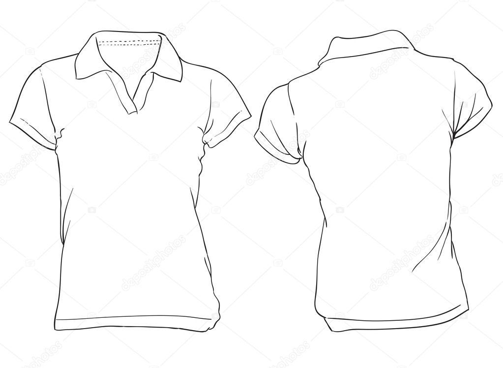 White Polo Shirts Women