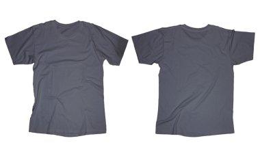 Dark Grey T-Shirt Template