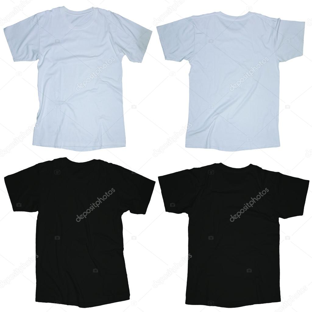 Black And White T Shirt Template Stock Photo Airdone 52849025