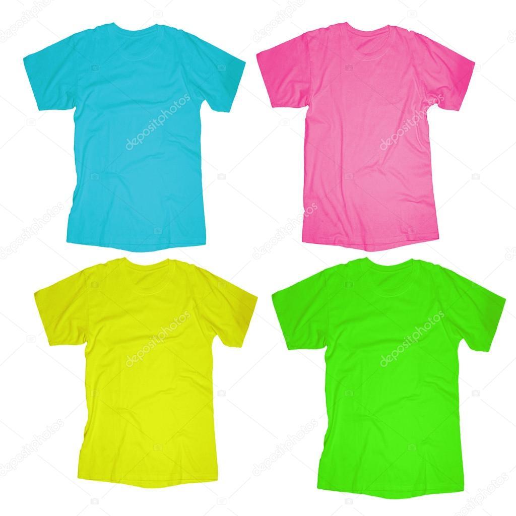leere T-shirt-Vorlage — Stockfoto © airdone #52849075