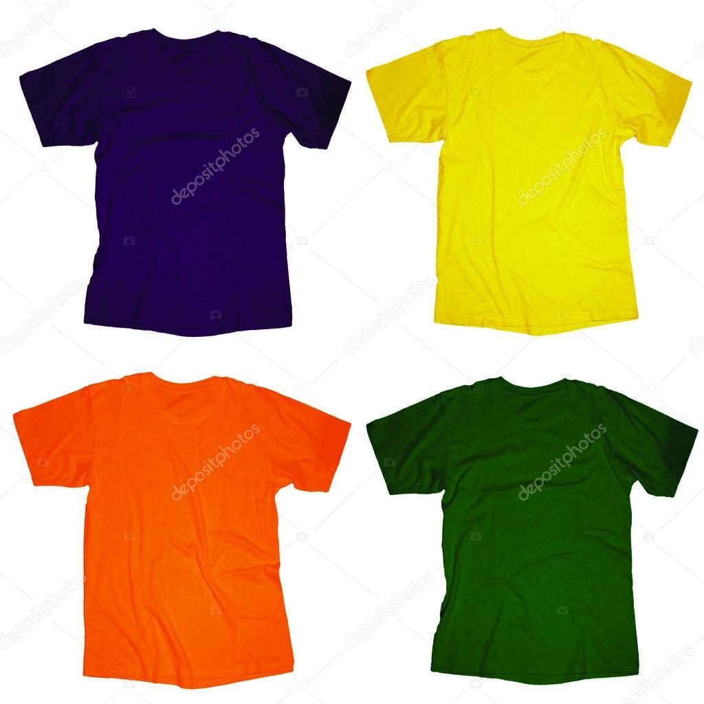 leere T-shirt-Vorlage — Stockfoto © airdone #52849341