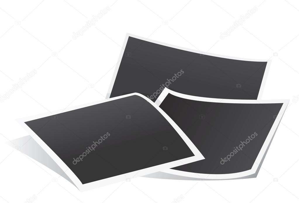 Papier-Fotorahmen — Stockvektor © airdone #94355486