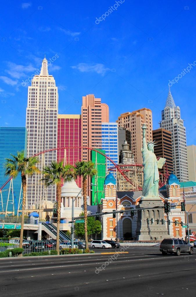 New York New York Hotel And Casino Las Vegas Nevada Stock