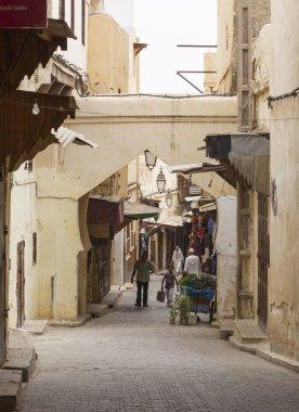 People in the medina