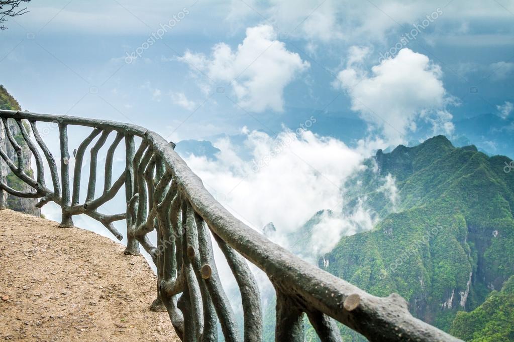 China Tianmen Shan Mountain