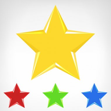 Four color star element collection