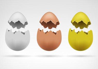 Broken eggs  collection