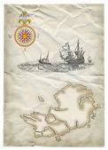 Piraten-Karte