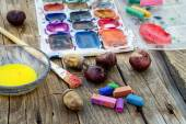 Malování a na podzim