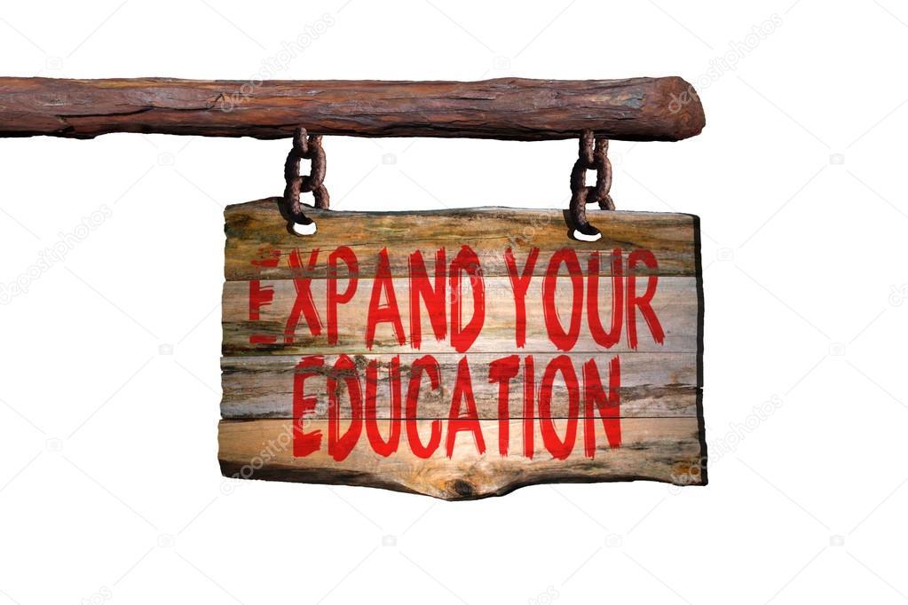 Ampliar Tu Signo De Frase Motivacional De La Educación