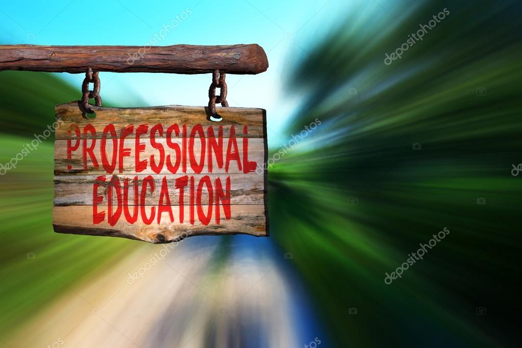 Muestra Frase Motivacional De Educación Profesional Foto