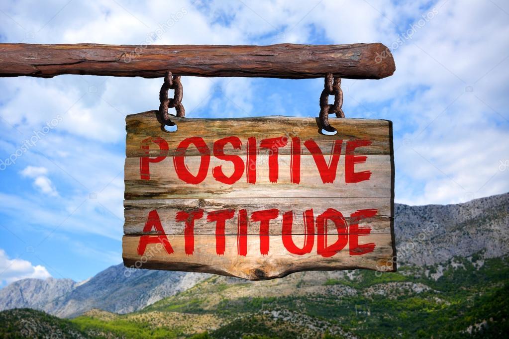 Muestra Frase Motivacional De Actitud Positiva Foto De