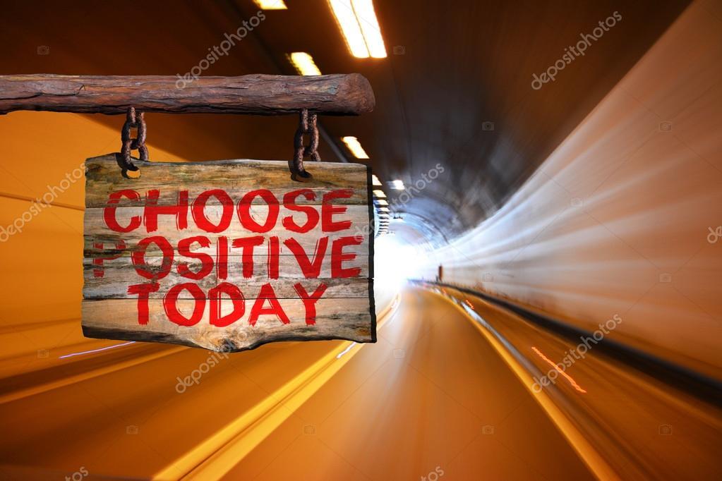 Elija El Signo Positivo De La Frase Motivacional De Hoy