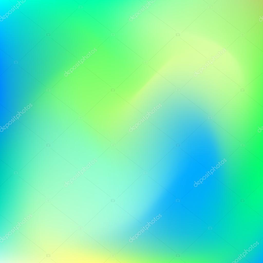 Sfondo Astratto Di Colore Blu E Verde Vettoriali Stock Molaruso