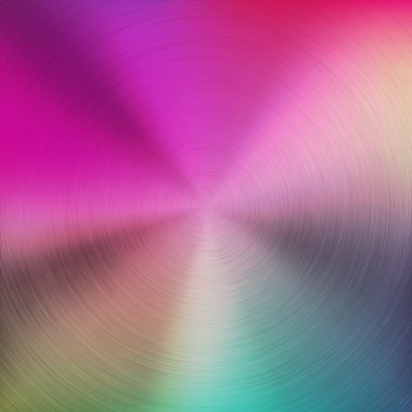 Colorful Gradient Background with Metal Texture