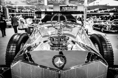 Fragment of full-size luxury car Mercedes-Benz 770K Cabriolet D (W07), 1931