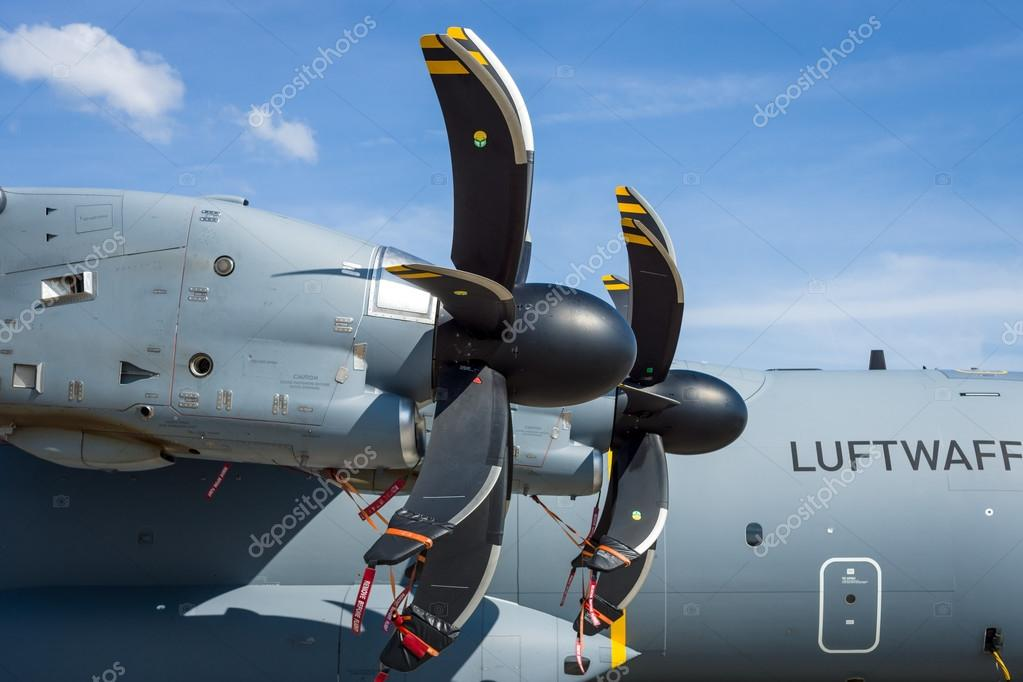 Turboprop engine Europrop TP400-D6 of military transport aircraft