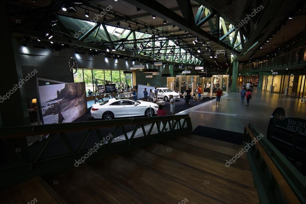 Showroom Of Mercedes Benz In The New Shopping Center Bikini Haus