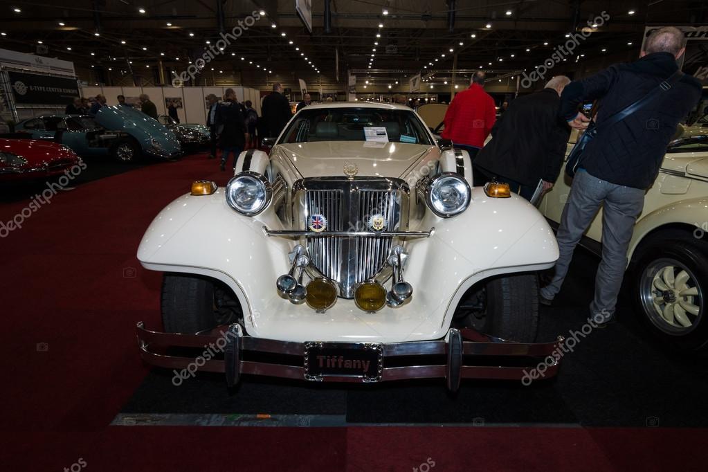 A wedding limousine, neo-classic car Cmc Tiffany, built based on ...