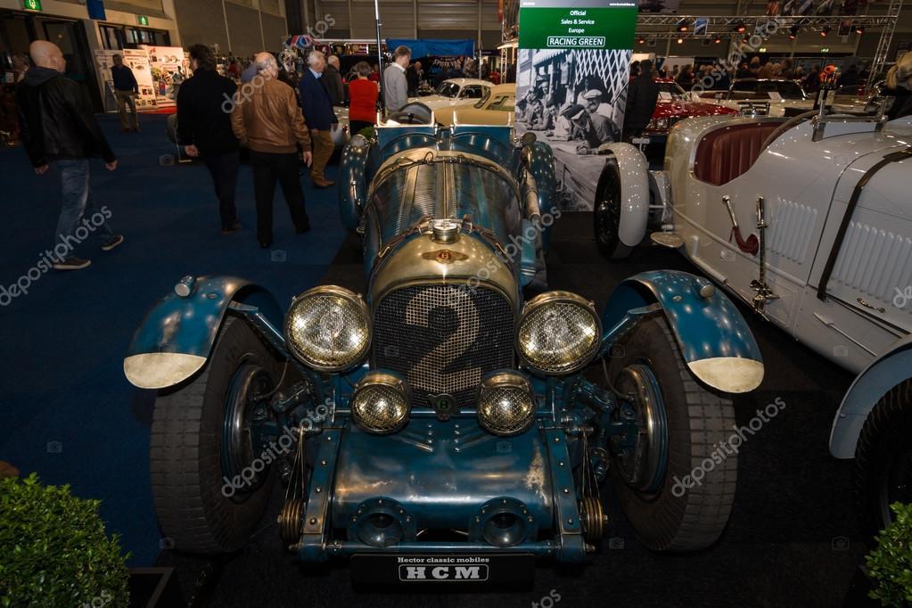 レース車ベントレー 1920年 1930 年頃 ストック編集用写真 s kohl
