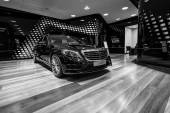 Full-size luxury car Mercedes-Benz S350 BT Lang (W222).
