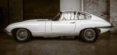 British sports car Jaguar E-Type (Jaguar XK-E)