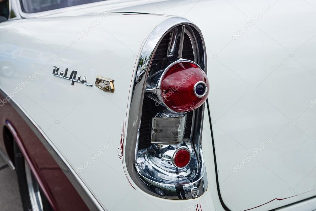 The Rear Stoplight Of A Full Size Car Chevrolet Bel Air Second